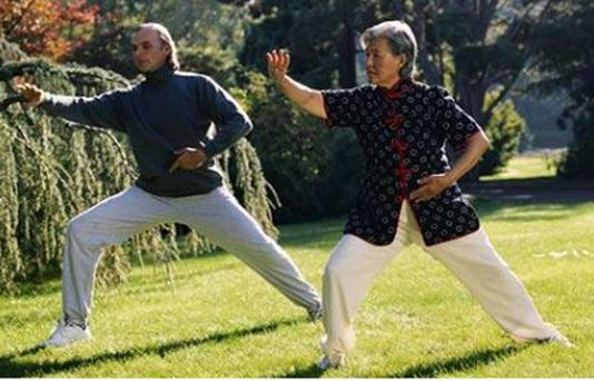 Tai Chi, which has grown in popularity throughout the world, is typified by slow, deliberate repetitive movements. Photo: Getty Images