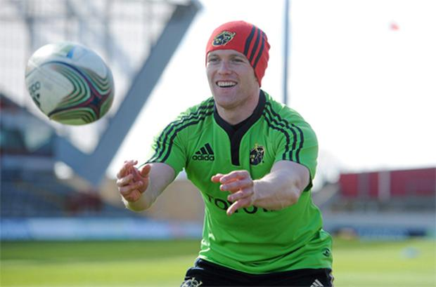 Keith Earls has graduated from his province into the Ireland set-up, without having to compete with non-Irish qualified players to get into the Munster team