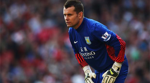 <p><strong>Shay Given</strong><br /> Club: Aston Villa<br /> Position: 15th<br /> His Season: Glad to be back playing regular football after a frustrating time at Manchester City, but the Donegal native has been far busier than he might have anticipated. Sidelined with injury at the midpoint of the campaign, although he regained his place immediately. A few errors in recent weeks, but he's the least of Alex McLeish's worries.<br /> What If They Go Down? Given was very thankful to Randy Lerner when he awarded him a five-year contract last summer and a weekly wage in the region of £60,000. That was a huge show of faith in a 35-year-old and the Donegal man would likely have to repay that loyalty in the Championship -- he won't get a better deal elsewhere.<br /> Survival Prospects: Good</p>