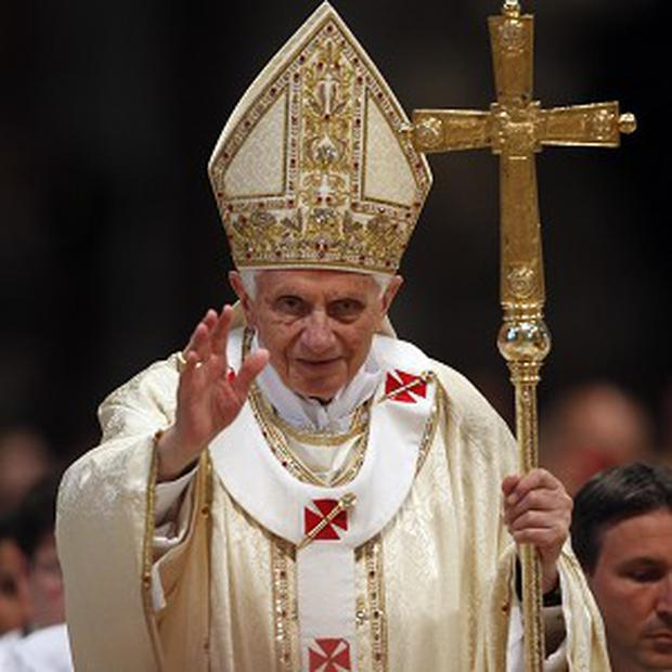 Pope Benedict XVI has criticised dissident priests from the altar of St Peter's Basilica(AP)