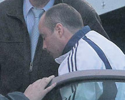 Alan Wilson at Dublin District Court where he was charged with the murder of Marioara Rostas