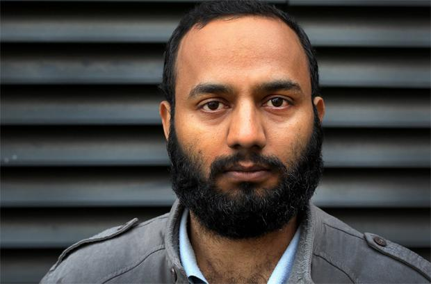 Former Tesco worker Yasir Azad, who appeared at the Employment Appeals Tribunal yesterday. Photo: Steve Humphreys