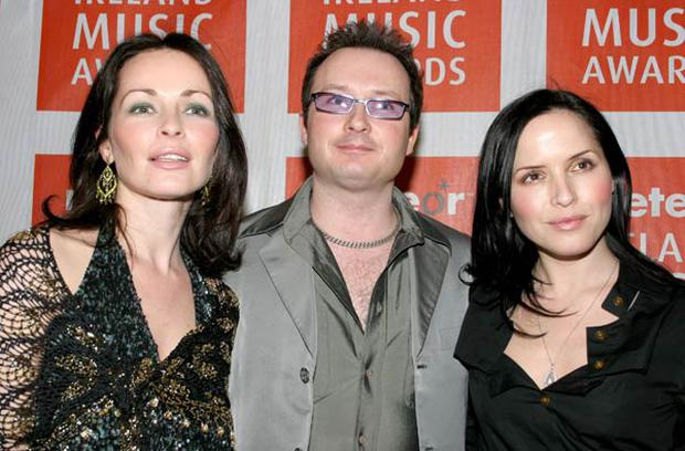 Sharon, Jim and Andrea Corr in 2005,