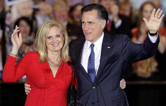 Ann Romney. Photo: AP