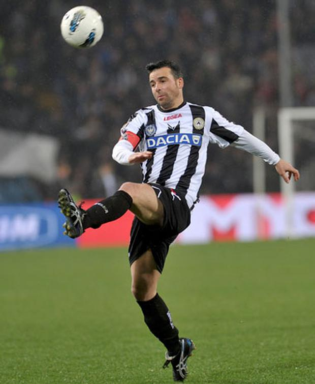 Antonio Di Natale.Udinese Captain Antonio Di Natale To Look After Disabled