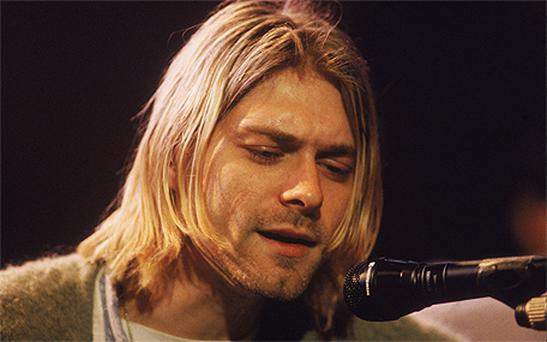 Kurt Cobain. Photo: Getty Images