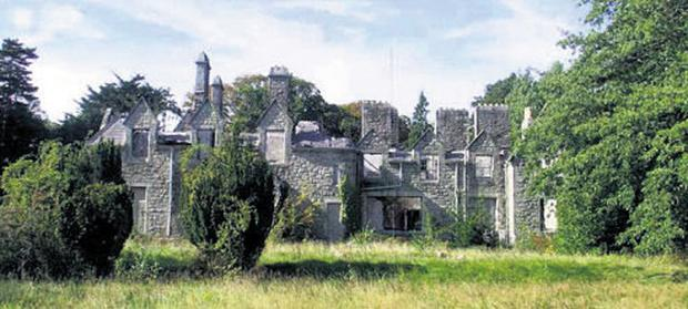 The Marlay Grange house that was damaged by fire