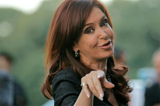 Argentine President Cristina Fernandez de Kirchner's action on oil company Repsol has sent a negative signal to international investors, European Union foreign policy chief Catherine Ashton said. Photo: Reuters