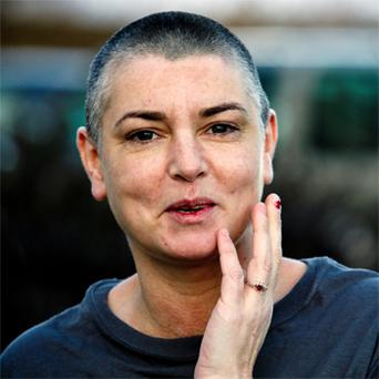 Sinead O'Connor: unwell. Photo: Mark Condren