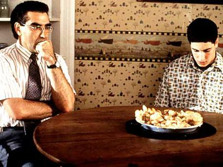 <b>7. American Pie - Jason Biggs experiments with apple pie..</b></br>