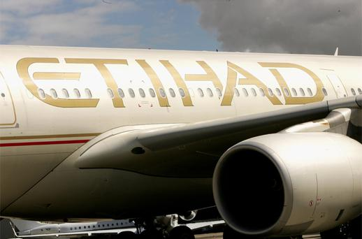 Etihad has made no secret of its interest in buying the government's 25pc stake in Aer Lingus. Photo: Getty Images