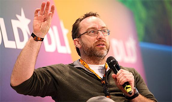Jimmy Wales, the Wikipedia co-founder