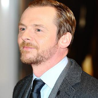 Simon Pegg is a self-confessed sci-fi geek
