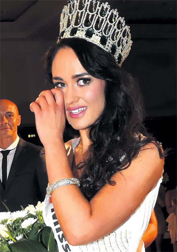 Marie Hughes has been stripped of her Miss Ireland crown