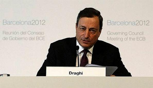 European Central Bank (ECB) President Mario Draghi. Photo: Getty Images