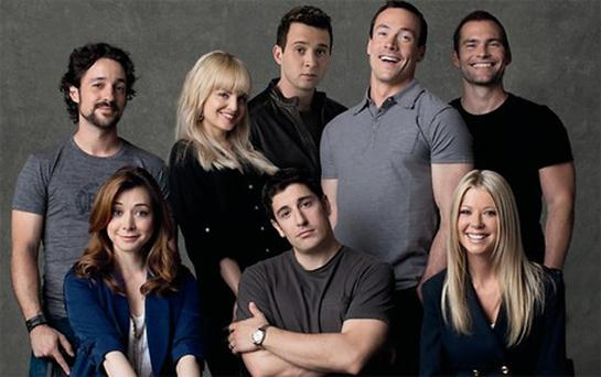 The cast of American Pie Reunion