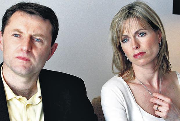 The parents of missing Madeleine McCann, Kate and Gerry.