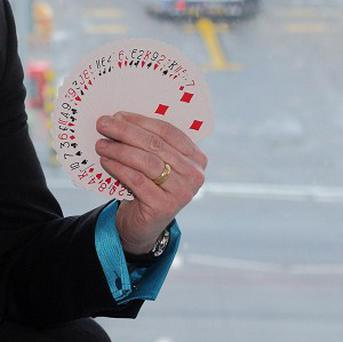 A US federal agency advertised for a magician
