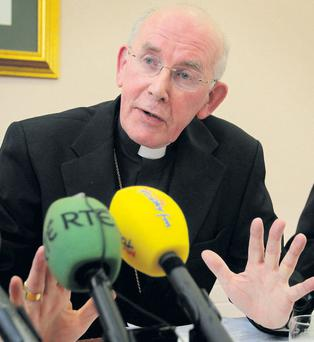 Dr Sean Brady: 'In the name of God, Cardinal, go – and go now'.