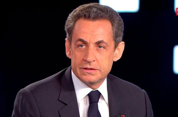 Late surge from Nicolas Sarkozy (above) leaves the result of presidential race on a 'knife edge'