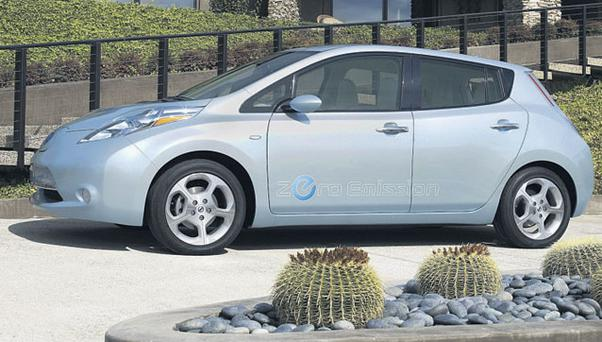 HANDICAPPED: A lack of charge stations put drivers of the Nissan Leaf under pressure