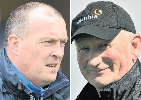 Dublin manager Pat Gilroy, left, and Kilkenny's Brian Cody, members of the sporting elite adding weight to Yes drive