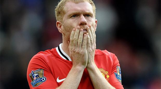 Paul Scholes pauses for thought