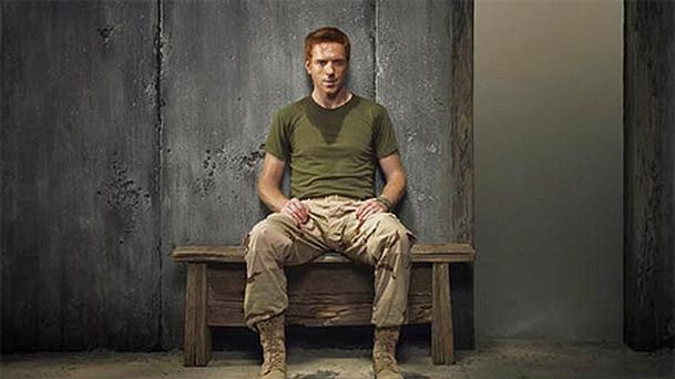 Damian Lewis stars in Homeland