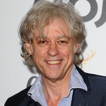 Bob Geldof said he does not know how to pronounce his grandson's name