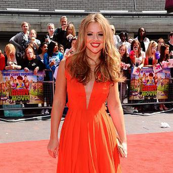 Kimberley Walsh said it's a 'real honour' to be representing Great Britain with the song