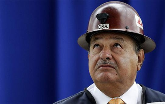 Carlos Slim amassed much of his $76bn fortune in Latin America's mobile phone market
