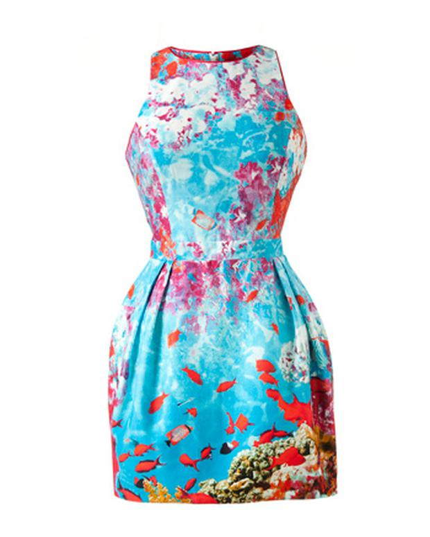Sealife prom dress €21 Penneys