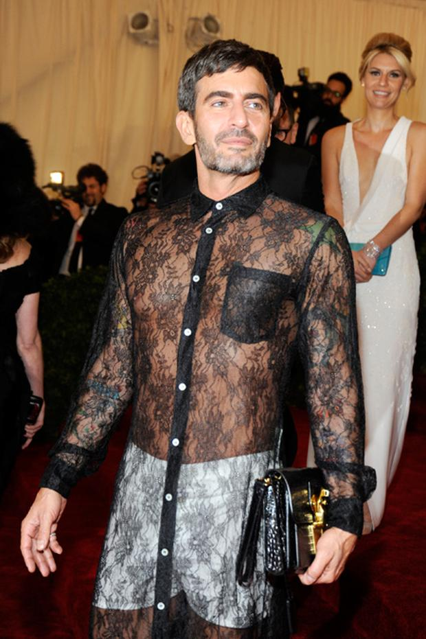 Marc Jacobs attends the 'Schiaparelli And Prada: Impossible Conversations' Costume Institute Gala at the Metropolitan Museum of Art on May 7, 2012 in New York City.