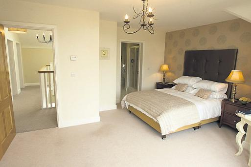 A bedroom in a three-bed house in Killeen Castle, Dunshaughlin