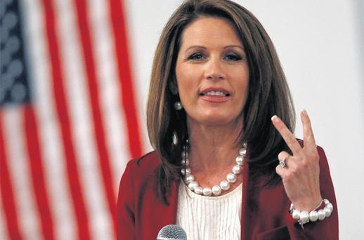 Richard Lugar who has been sensationally ousted from the Senate, believes hardline Republicans like Michele Bachmann (pictured) are attempting to 'cleanse' the party of those willing to work with Democrats. Photo: Reuters