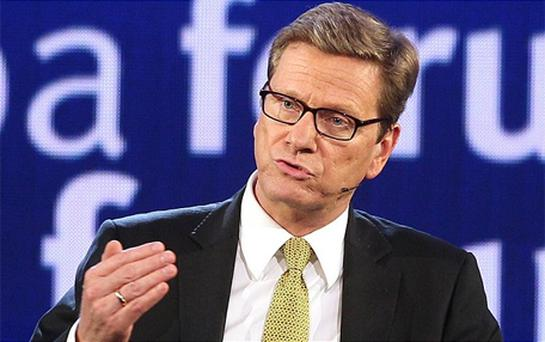 German Foreign Minister Guido Westerwelle. Photo: AP