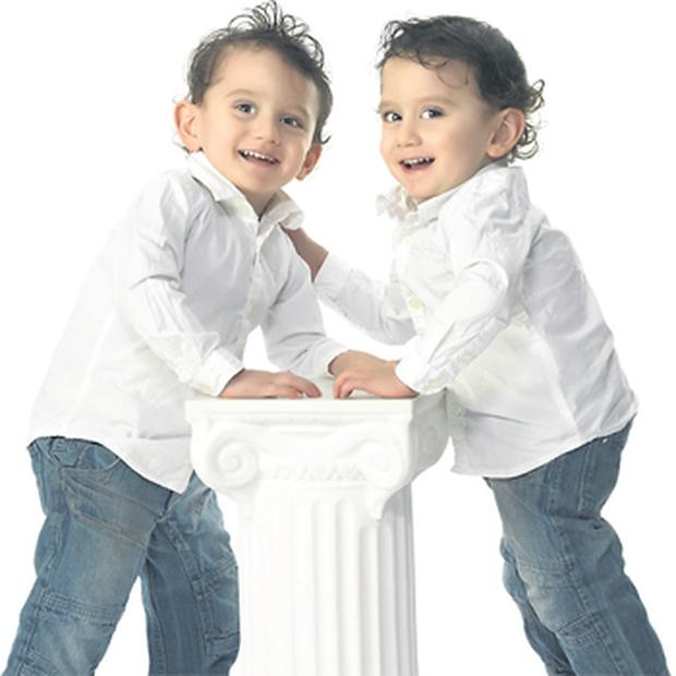 Conjoined twins Hassan and Hussein Benhaffaf today