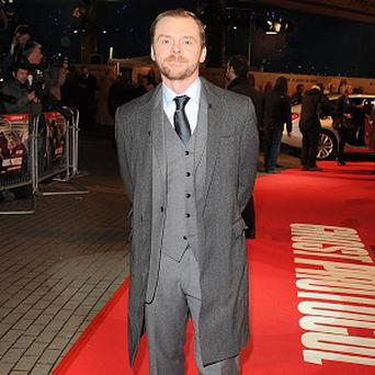 Simon Pegg's tweet suggests filming on Star Trek 2 has finished