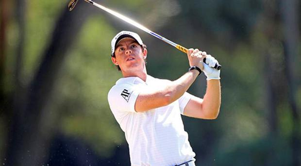 Rory McIlroy in action at The Players. Photo: Getty Images