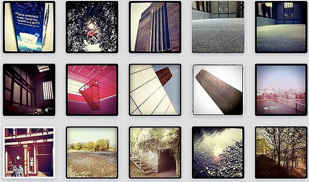 A selection of photos on Instagram
