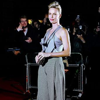Charlize Theron tore a muscle screaming in her latest movie role