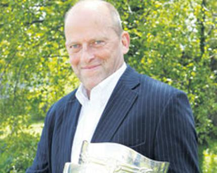 Ger Loughnane launching RTE's coverage of the upcoming GAA championship yesterday. Photo: KYRAN O'BRIEN