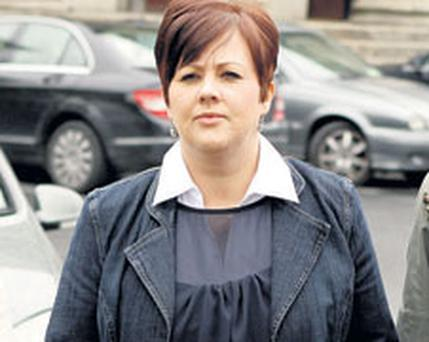 TURBULENT TIMES: Jenny Forsey Ms Forsey told the court that her ex-husband had told her and their three children that he had ended the affair, but it emerged later that, in fact, he had not. Photo: Gerry Mooney
