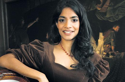 BANKABLE STAR: Former finance worker Amara Karan