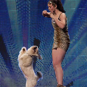 Ashleigh and Pudsey won the Britain's Got Talent final