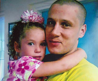 Anthony O'Brien (29) died trying to save his daughter Nadine's life in a fire at their Tralee home