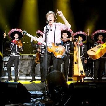 Sir Paul McCartney played three shows in Mexico