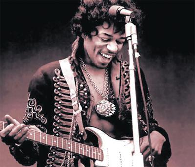 Rock legend: Jimi Hendrix