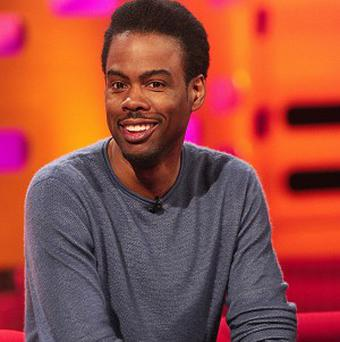 Chris Rock said being the only person on set who didn't speak French was a bit confusing