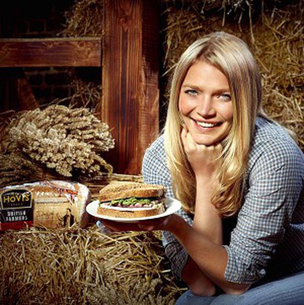 Jodie Kidd is launching a search for the ultimate British sandwich to mark the start of British Sandwich Week (Hovis/PA)